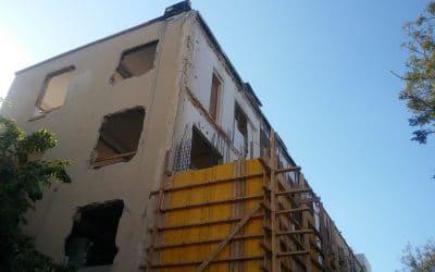 """דיירים התנגדו לפרויקט תמ""""א 38 בגלל 3 מ""""ר"""
